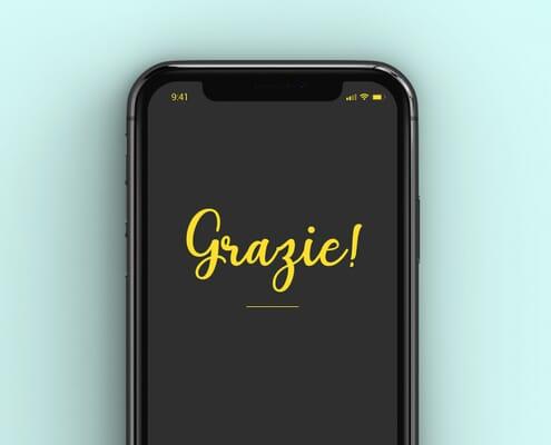 Banner Grazie